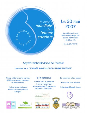 Journée de la Femme Enceinte 2007